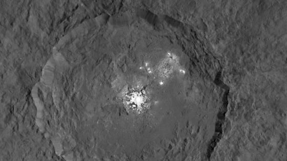 穀神星神秘的亮點並非冰而是其它物質