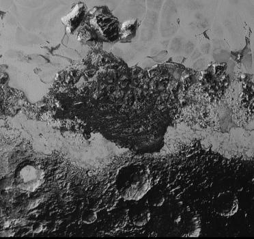冥王星赤道東北地區地貎