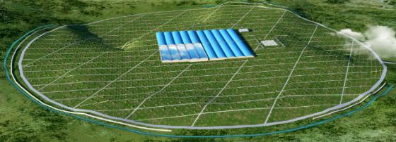 高海拔宇宙線觀測站設計圖