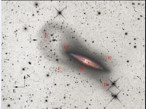 NGC 4013的合成光學圖像