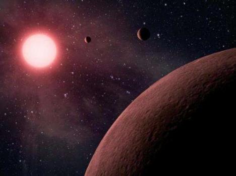 畫家筆下的系外行星系統