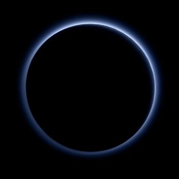 冥王星藍色大氣層