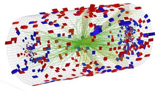 大型強子對撞機對撞模擬產生微小等離子態液滴