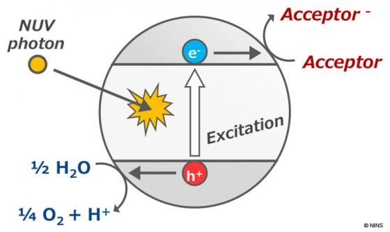 二氧化鈦的光催化反應