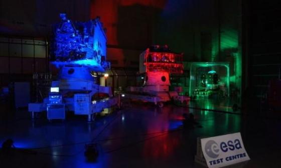歐洲太空總署展示水星探測衛星