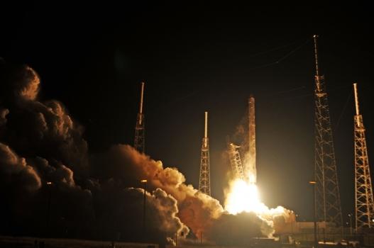 獵鷹九號火箭發射情況