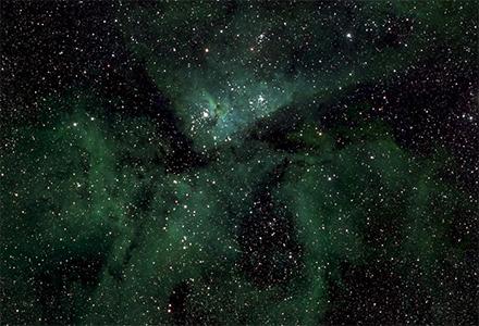 460億像素銀河系照片其中的一小部分