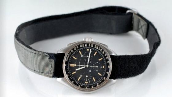 大衛·史葛在月球上佩戴的手錶