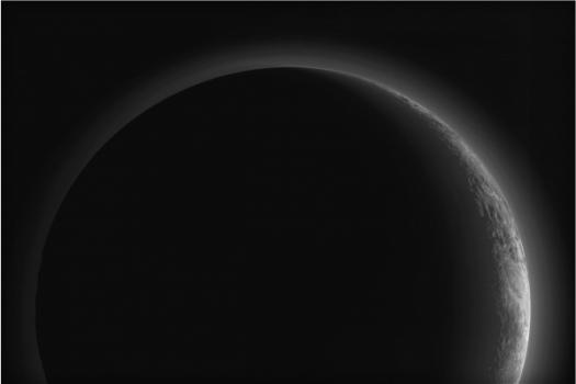新視野號飛掠冥王星後拍攝冥王星的照片