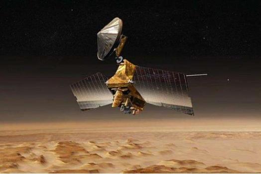 畫家筆下的火星偵察軌道器