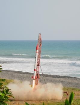 混合火箭發射情況