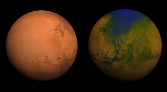 人類不能用微生物改造火星產生溫室效應