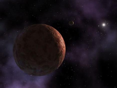 畫家筆下的新矮行星