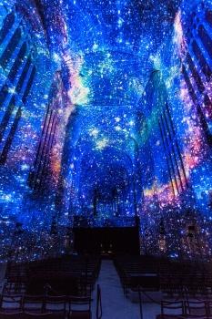 英皇學院禮堂的星空之網