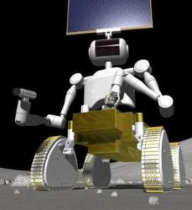 畫家筆下日本開發的火星機械人