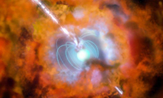 畫家筆下的極超新星巨大爆炸