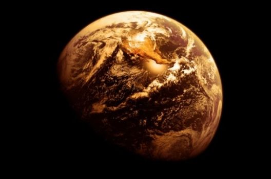 畫家筆下早期地球的顏色