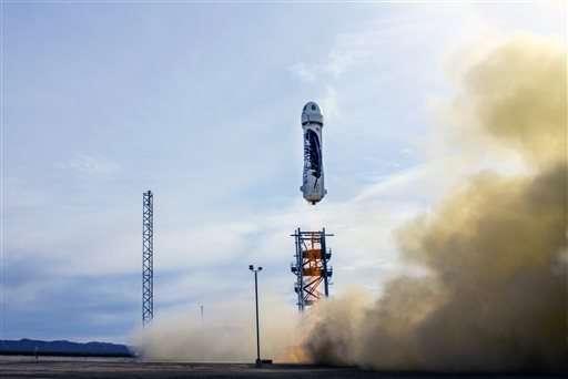 新謝帕德號太空船發射情況