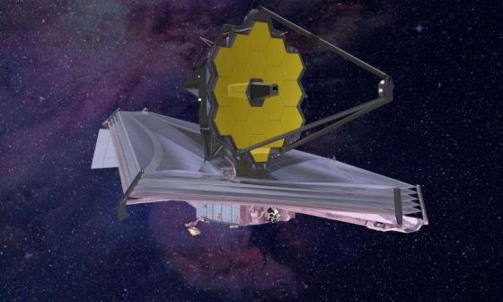 畫家筆下的詹姆斯·韋伯太空望遠鏡