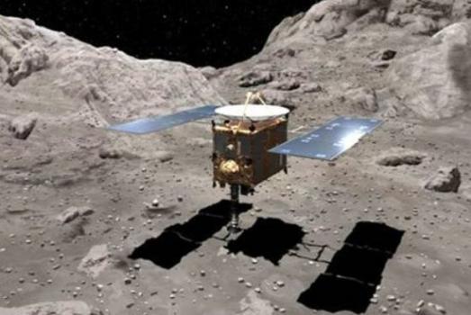 畫家構思「隼鳥二號」在小行星採集樣本
