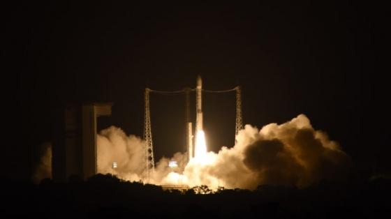 重力波探測衛星升空情況