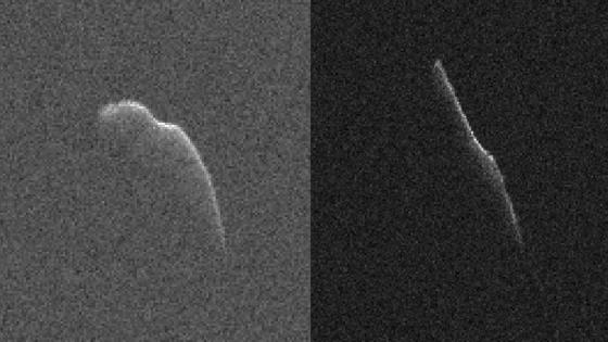 小行星2003 SD220 雷達圖像