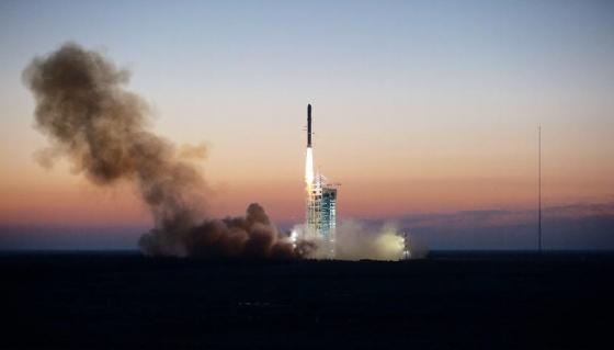 暗物質粒子探測衛星發射情況