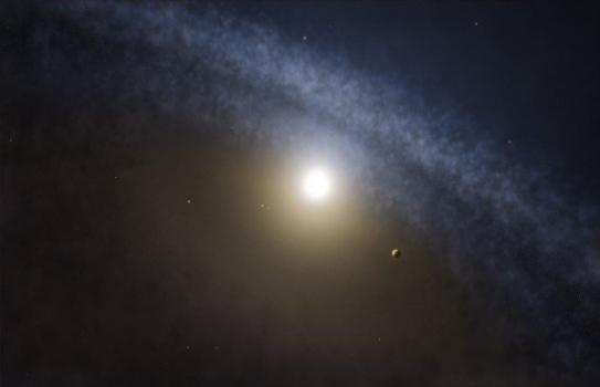 塵埃圍繞年輕恆星圓盤之間的差異