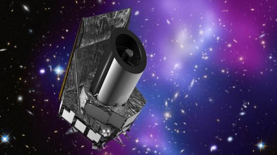 畫家筆下的歐幾里德太空望遠鏡