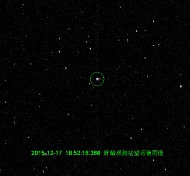 盱眙觀測站望遠鏡觀測圖像