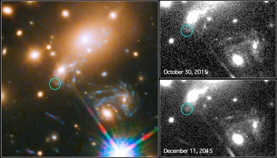 乘加引力透鏡超新星