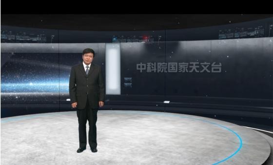 國家天文台新聞發言人薛隨介紹天文觀測新成果