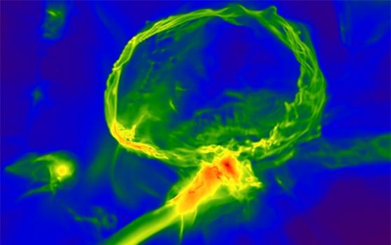 模擬宇宙的第一代恆星死後的遺骸