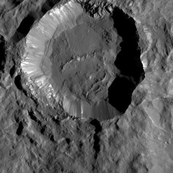 古栢華隕石坑