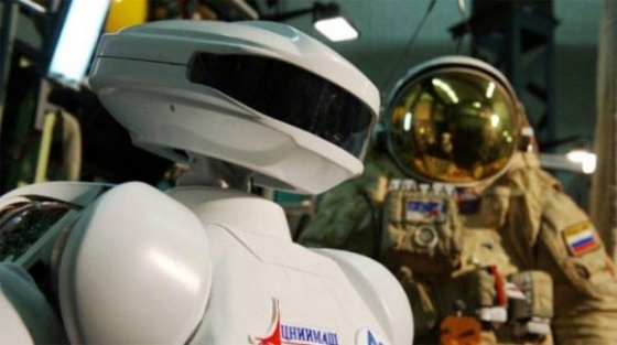 俄羅斯製造在太空工作的機械人