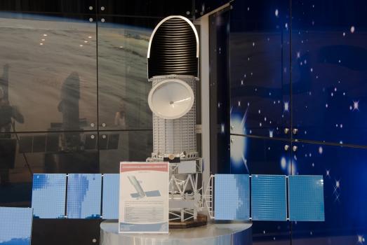 俄羅斯紫外線太空望遠鏡模型