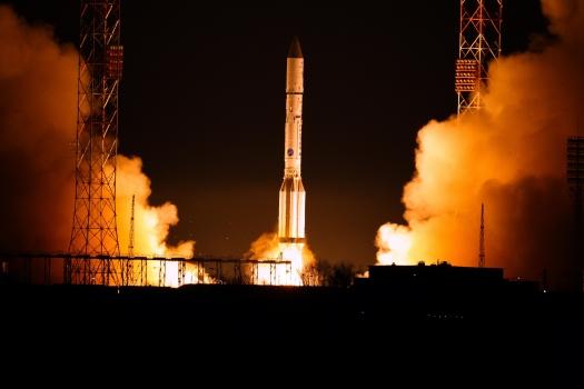 歐洲數據中繼系統通訊衛星今早發射情況