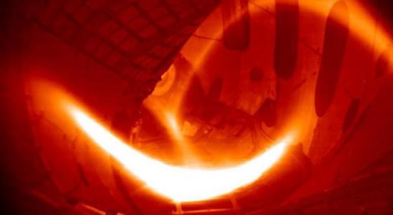 仿星器核聚變裝置生產氫等離子體