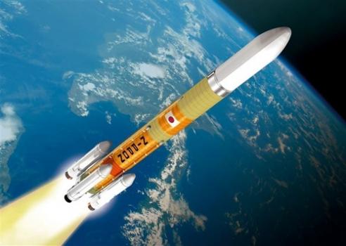 畫家筆下的H3火箭