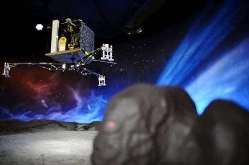 菲萊登陸彗星展覧模型