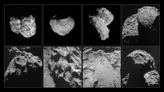 楚留莫夫·格拉希門克彗星的樣貌