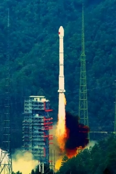 新一代北斗導航衛星發射