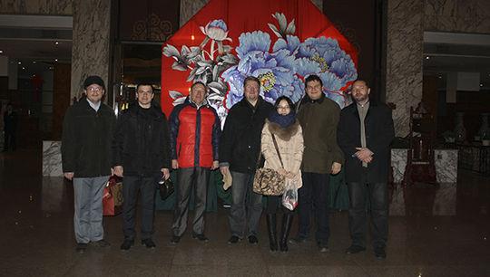 中俄大學生合作研發衛星會議後合照