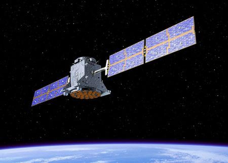 畫家筆下的北斗導航衛星