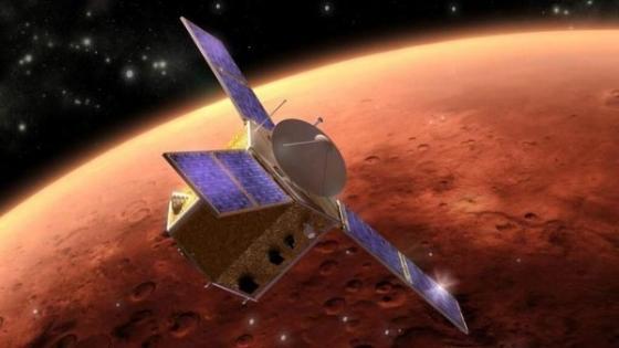 畫家筆下的希望號火星探測衛星