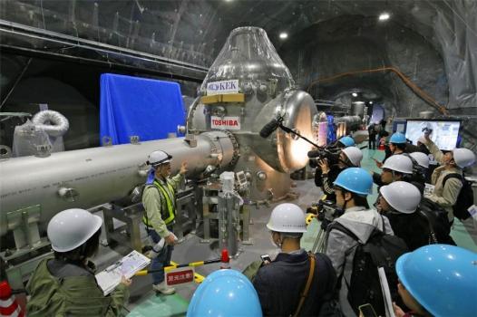 神岡重力波探測器招待傳媒參觀