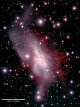 NGC 6240 星系