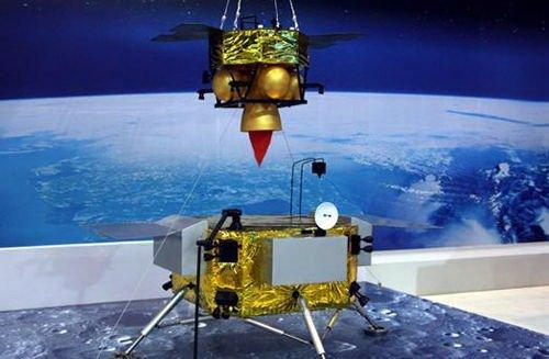 嫦娥五號展覽模型