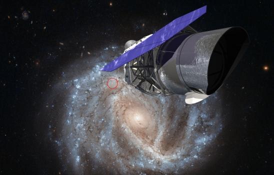 廣域紅外線巡天望遠鏡和NGC 2441螺旋星系