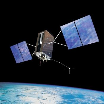 畫家筆下的 GPS III 數碼導航衛星
